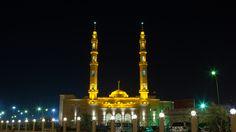 Farwaniya Mosque, Kuwait #architecture #mosque #lighting #LED