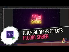 Tutorial Adobe After Effects: Plugin Saber - YouTube