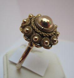 Zeeuwse Knop Gouden ring