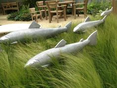 Paul Amey's fish on Gaze Burvill stand | Flickr - Photo Sharing!