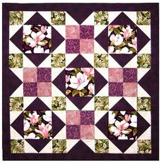 Quilt Pattern - Grizzly Gulch - Afternoon Delight