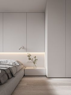 French Home Decor SA apartment on Behance.French Home Decor SA apartment on Behance Interior Modern, Apartment Interior Design, Minimalist Interior, Minimalist Home, Apartment Layout, Apartment Ideas, Modern Minimalist Bedroom, Cheap Apartment, Interior Livingroom