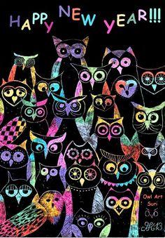 (Owl Art Suri)