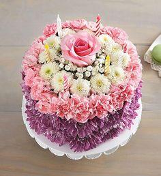 Happy Birthday Flower Cake And Wishes Birthday Wishes Flower Pastel Birthday Cake Banner Template Happy Birthday Flower Cake, Birthday Wishes Flowers, Birthday Bouquet, Purple Birthday, Valentines Flowers, Cake Birthday, 800 Flowers, Pastel Flowers, Floral Cake