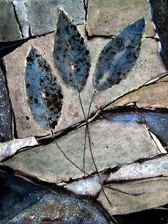 Neu in meiner Galerie bei OhMyPrints: Blaue Blätter
