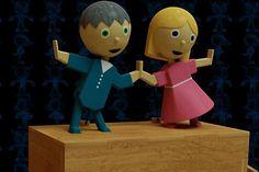 Let's Dance Wooden Toy - Parasolid,SOLIDWORKS - 3D CAD model - GrabCAD
