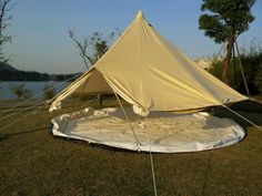 Waterproof Canvas C&ing Bell Tent - Buy Pink C&ing TentCircus Tents For SaleCanvas Tent Product on Alibaba.com & Waterproof Bell Tent Canvas Camping Bell Tent Photo Detailed ...