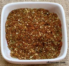 ... dinner? Try this Skinny Ms. Poultry Seasoning with a Hint of Citrus