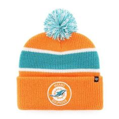 95be5cb67508e Miami Dolphins Noreaster Cuff Knit Hat