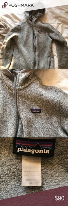 Patagonia Better Sweater hoodie Gently worn Patagonia zip up sweater. No rips, not holes. Zipper work great. Worn a handful of times. Patagonia Jackets & Coats