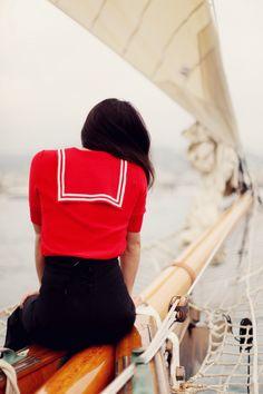 sail boat dinner date