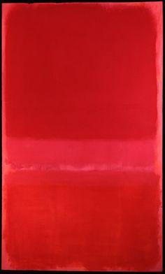 Mark Rothko, Untitled (Red), 1958