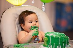 Pin for Later: Daxton Kicked Off His First Birthday With a Sweet Football-Themed Celebration
