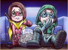 New Artwork by Lord Mesa of Stephen Amell – Waiting for the Arrow Season 4 Trailer to Drop The Flash, Speedy Arrow, Arrow Flash, Lord Mesa Art, Arrow Memes, Arrow Season 4, Chibi, Thea Queen, Arrow Art