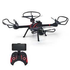 Babrit 4CH FPV Headless Mode RC Quadcopter 2MP HD Camera WIFI Remote Control Quadcopter Drone with Colorful LED Lights - http://www.midronepro.com/producto/babrit-4ch-fpv-headless-mode-rc-quadcopter-2mp-hd-camera-wifi-remote-control-quadcopter-drone-with-colorful-led-lights/