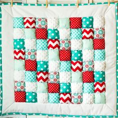 Puff Quilt Pattern - $12.00 #onselz