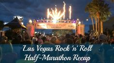 Las Vegas Strip at Night Half-Marathon Recap