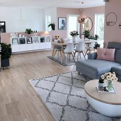Gorgeous Scandinavian Living Room Design Ideas – - Decoration For Home Casual Living Rooms, Home Living Room, Apartment Living, Living Room Designs, Living Room Decor, Modern Living, Small Living, Bedroom Decor, Wall Decor