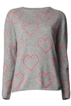 Shop designer knitwear and sweaters for women at Farfetch to build the foundations of your winter wardrobe. Boyfriend Sweater, Heart Sweater, Valentines Day Gifts For Her, Fashion Articles, Cashmere Sweaters, Autumn Winter Fashion, Knitwear, Sweaters For Women, Fashion Outfits