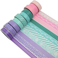 Stationary Items, Stationary Supplies, Cute Stationery, Washi Tape Set, Masking Tape, Bullet Journal Tools, Washi Tape Journal, Cool Pencil Cases, Cool School Supplies
