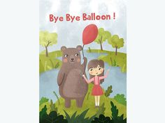 Bye Bye Ballon by Arini Hidayati