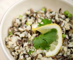 Wild Rice Pilaf with Peas, Lemon Zest, and Tarragon : The Humane Society of the United States