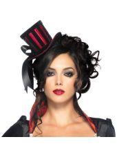 Mini Velvet Top Hat for Women-Party City