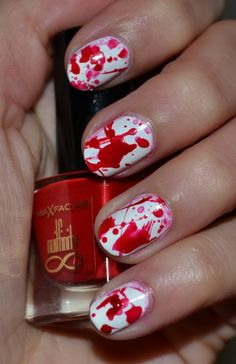This is Halloween Nail Art