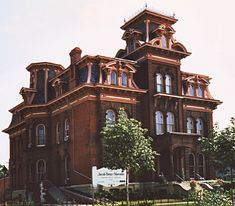 Jacob Henry Mansion Joliet IL  Dave's Victorian House Site - Illinois Gallery