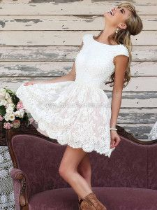 Best Wedding Reception Dress With Boots White Lace 50 Ideas Short Prom Dresses Uk, Formal Dresses Online, Prom Dresses 2016, Formal Evening Dresses, Lace Dresses, Graduation Dresses, Party Dresses, Summer Dresses, Bridal Outfits