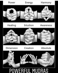 Mudras are hand gestures used during meditation that channel your energy flow towards specific goals. These are some mudras for healing and transformation Chakra Meditation, Chakra Healing, Indian Meditation, Kundalini Yoga, Vipassana Meditation, Chakra Art, Meditation Art, Pranayama, Magick