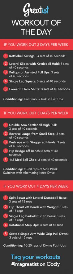 Greatist Workout of the Day: Monday September 16th | Greatist