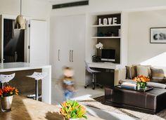 Interior Design: Noda Designs Project: Balham Townhouse JAM Gas Assist Stools & Office Chair