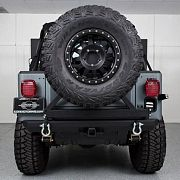 1985 Jeep CJ7 Rear View