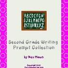 The collection is of writing prompts for 2nd graders. The prompts meet the Common Core standards for writing. I detailed them as list in the MA fra...
