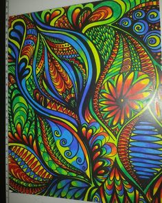 ColorIt Calming Doodles Volume 1 Colorist: Marianne Mancini-Guercio #adultcoloring #coloringforadults #adultcoloringpages #doodle