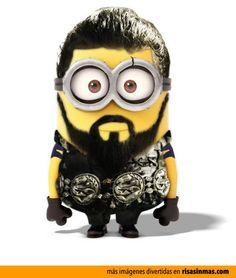 Minion Khal Drogo. This is freaking hilarious