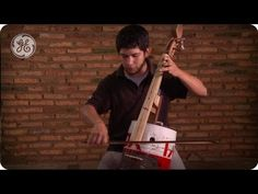 Landfill Harmonic - In Cateura, Paraguay, is a town built on a landfill.  The children there have an orchestra using instruments built from found garbage.