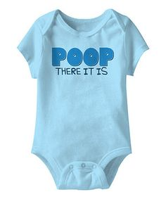 The little one brings stacks of smiles and loads of laughter to each day. This hilarious bodysuit doubles down on the fun with the kind of great humor Baby will grow up loving. Soft cotton, a lap neck and handy bottom snaps make it an easy favorite.
