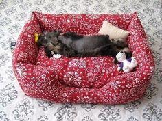 DIY Fabric Pet Sofa