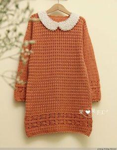 Crochet Stylish Late Winter Early Spring Dress – Stylish Chanel Inspired Dress
