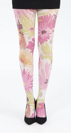 Would you wear #floral tights this spring?