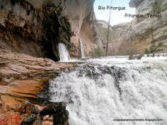 Nacimiento del río Pitarque, Maestrazgo Turolense.