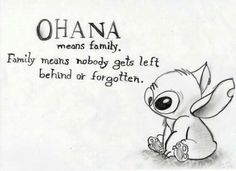 Always wanted an Ohana tattoo.