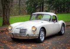 1959 MG A Coupe-- One of my favorite cars... I drove a 1957 MGA roadster in green for several years back in the early 90's.