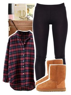 """""""Wild thing"""" by destinylove66 ❤ liked on Polyvore featuring Butter London, MICHAEL Michael Kors and UGG Australia"""