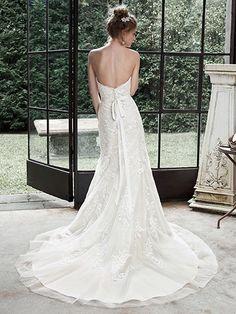 Winstyn Wedding Dress by Maggie Sottero | back