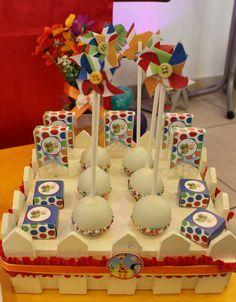 Baby TV Cake Pops  Violeta Glace