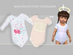 Puresim's Bodysuits for toddlers