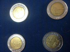 200 Lira Italian Coins Italy